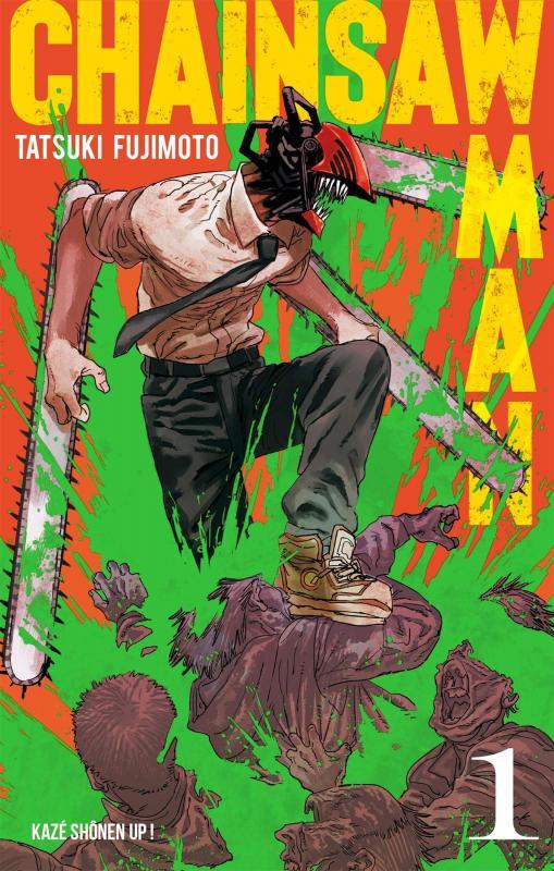 Chainsaw man T1, manga chez Kazé manga de Fujimoto