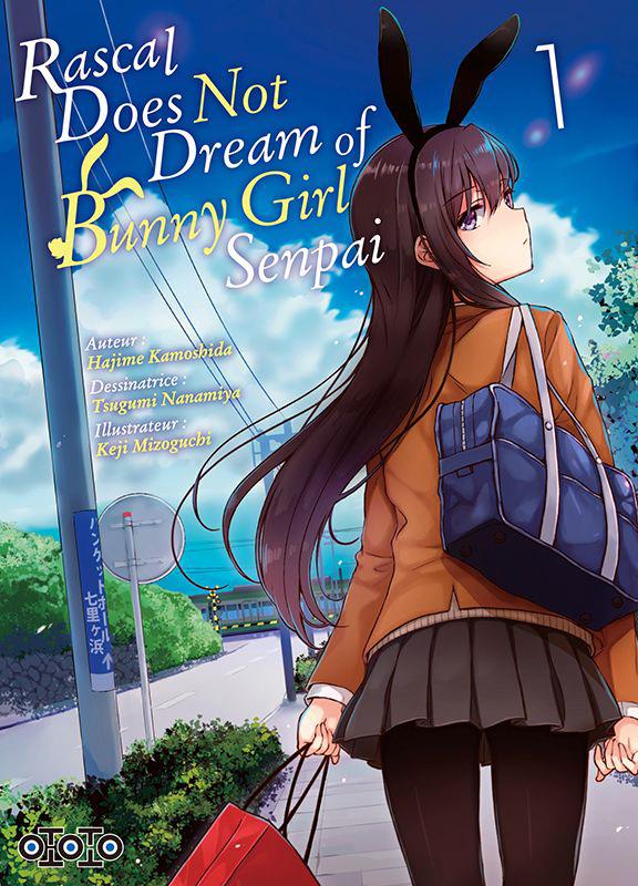 Rascal does not dream of bunny girl senpai T1, manga chez Ototo de Kamoshida, Nanamiya