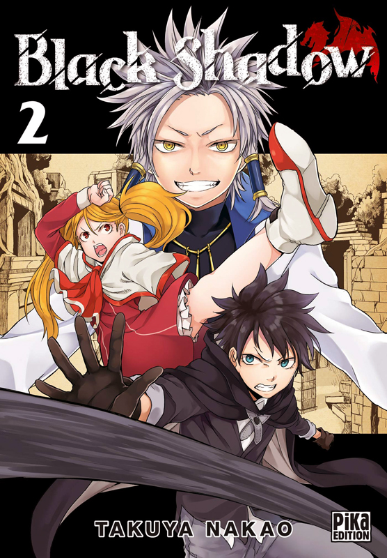 Black shadow T2, manga chez Pika de Nakao