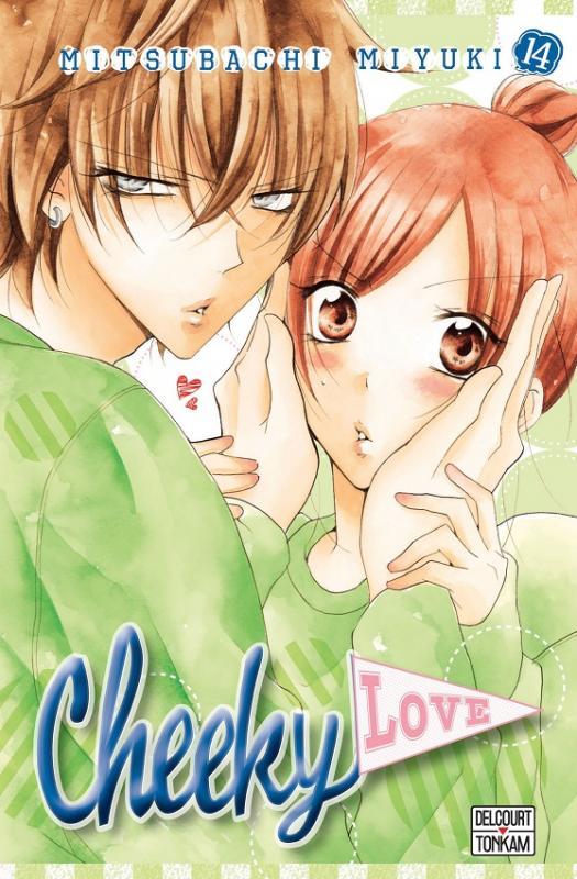 Cheeky love T14, manga chez Delcourt Tonkam de Mitsubachi