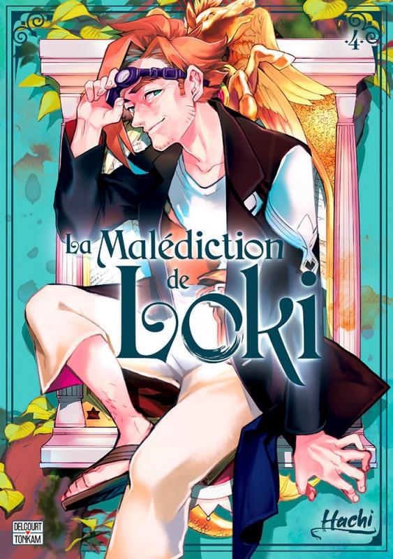 La malédiction de Loki T4, manga chez Delcourt Tonkam de Hachi