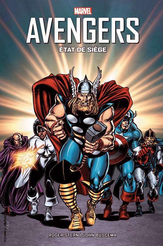 Avengers : Etat de siège (0), comics chez Panini Comics de Stern, Buscema, Scheele, Ferriter, Becton