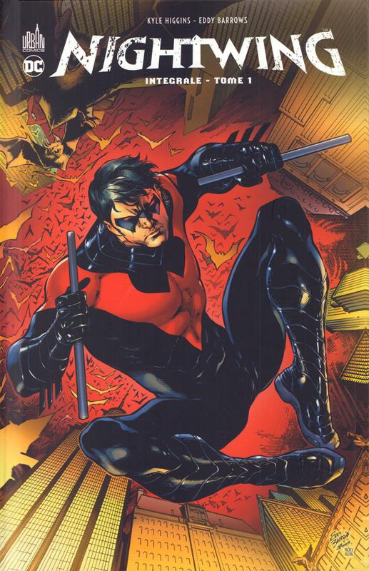 Nightwing T1, comics chez Urban Comics de Snyder, Higgins, DeFalco, Eddy Barrows, McCarthy, Guinaldo, Pansica, Capullo, Borges, Major, FCO Plascencia, Pantazis, Reis, Passalaqua