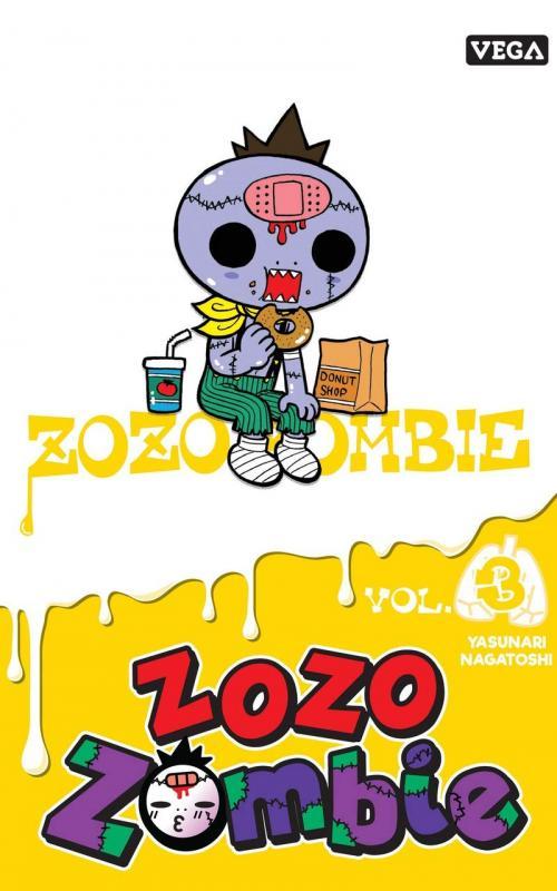 Zozo zombie T3, manga chez Vega de Nagatoshi