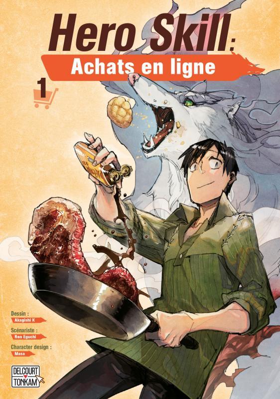 Hero skill : achats en ligne T1, manga chez Delcourt Tonkam de Eguchi, Akagishi