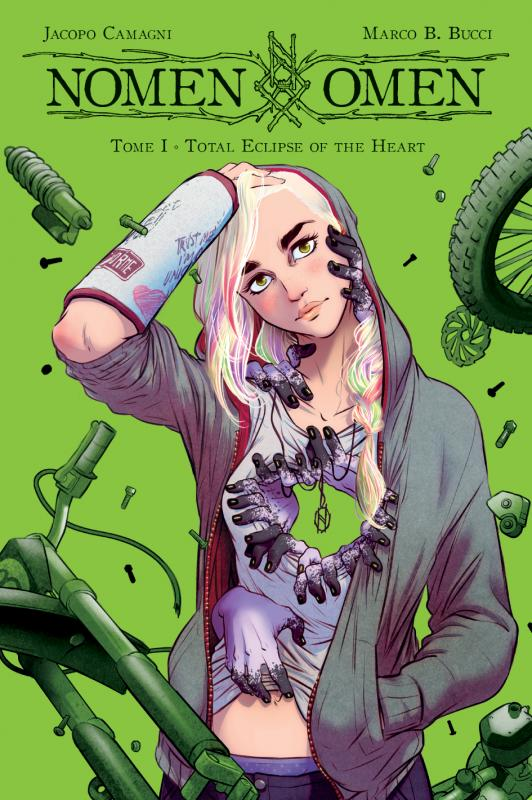Nomen omen T1 : Total Eclipse of the Heart (0), comics chez Panini Comics de Bucci, Camagni