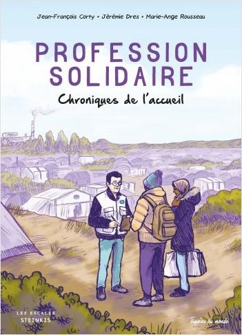 Profession solidaire, bd chez Steinkis de Dres, Corty, Rousseau