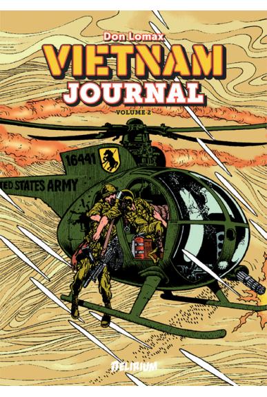 Vietnam Journal T2 : Le triangle de fer (0), comics chez Delirium de Lomax