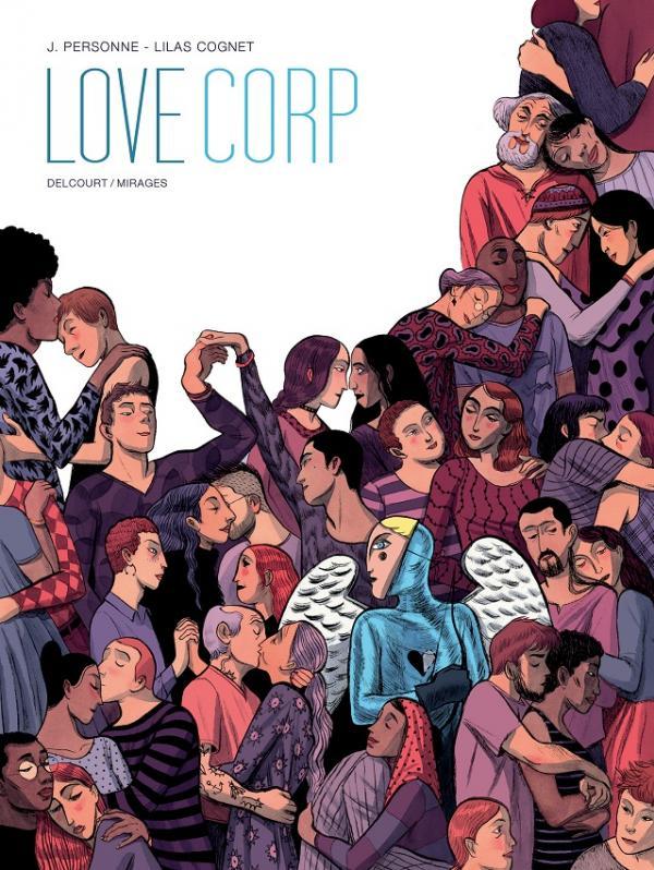Love Corp, bd chez Delcourt de Personne, Cognet