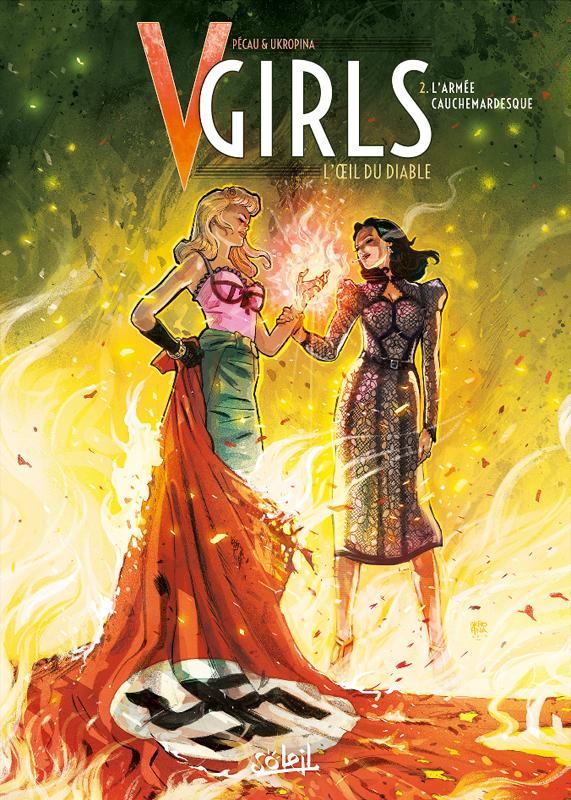 V-Girls L'oeil du diable T2 : L'Armée cauchemardesque (0), bd chez Soleil de Pécau, Ukropina, Facio Garcia