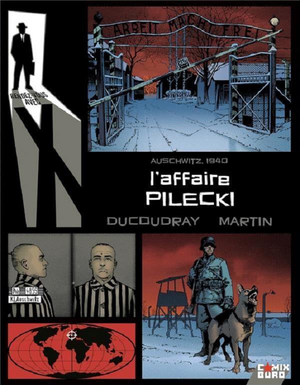 Rendez-vous avec X T5 : L'affaire Pilecki (0), bd chez Glénat de Ducoudray, Martin