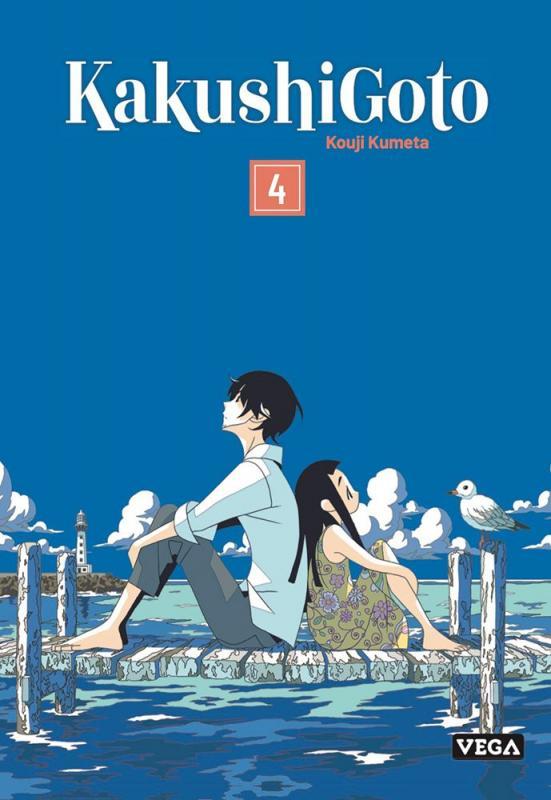 Kakushigoto T4, manga chez Vega de Kumeta