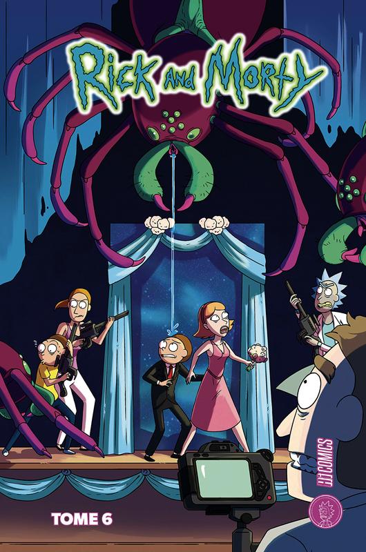Rick and Morty T6, comics chez Hi Comics de Starks, Moss, Vanaman, Ellerby, Dewey, Cannon, Hirsch, Farina, Sygh