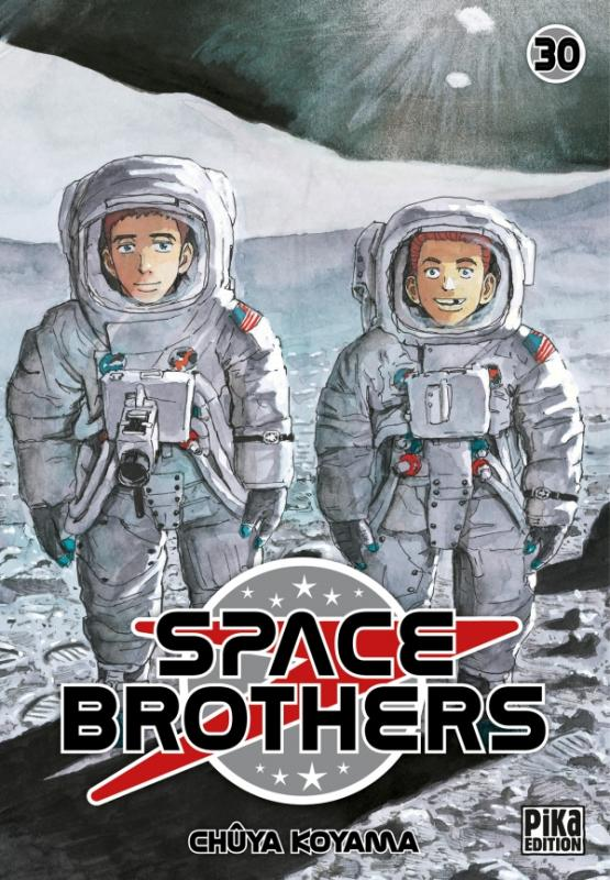 Space brothers T30, manga chez Pika de Koyama