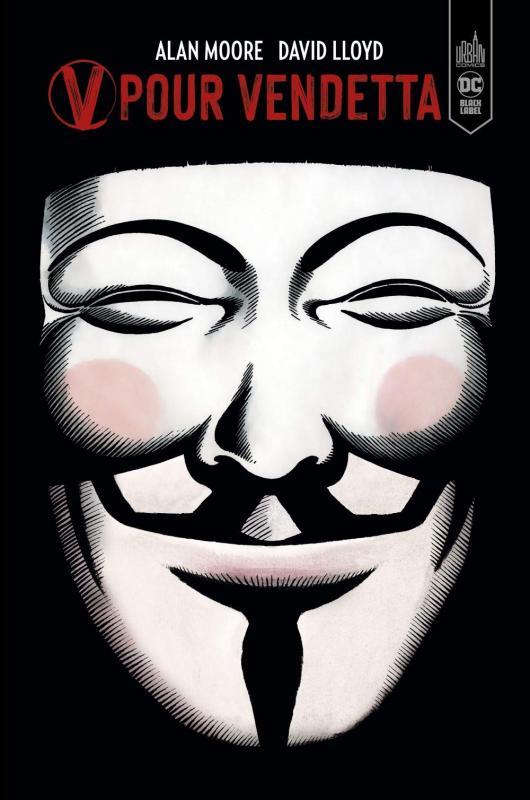 V pour Vendetta, comics chez Urban Comics de Moore, Lloyd, Weare