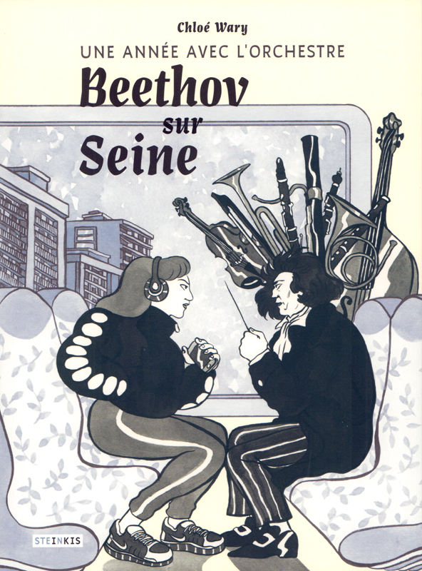 Beethov sur Seine, bd chez Steinkis de Wary