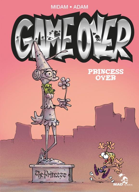 Game Over : Princess over (0), bd chez Glénat de Midam, Adam