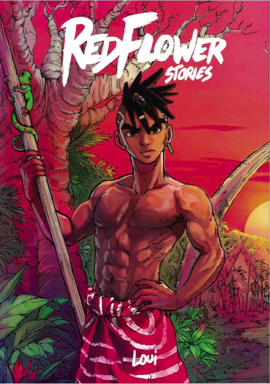 Red flower stories, manga chez Loui de Loui