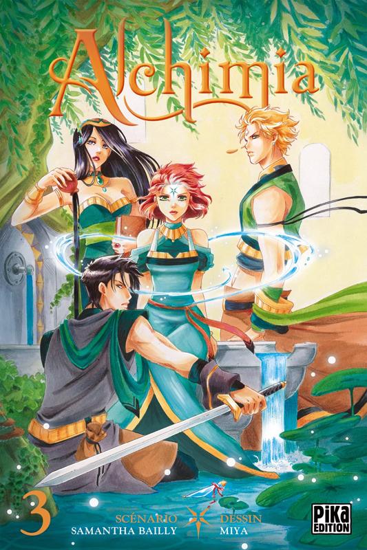 Alchimia T3, manga chez Pika de Bailly, Miya
