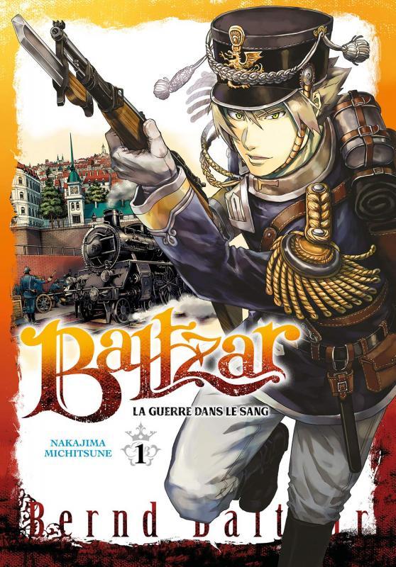 Baltzar T1, manga chez Meian de Nakajima
