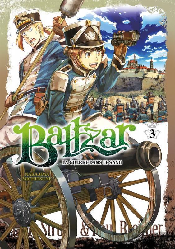 Baltzar T3, manga chez Meian de Nakajima
