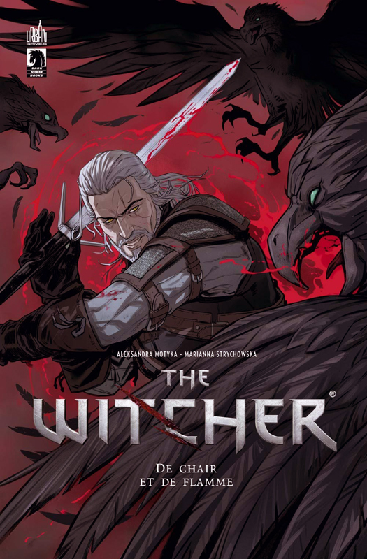 The Witcher T2 : De chair et de flamme (0), comics chez Urban Comics de Motyka, Strychowska, Affe