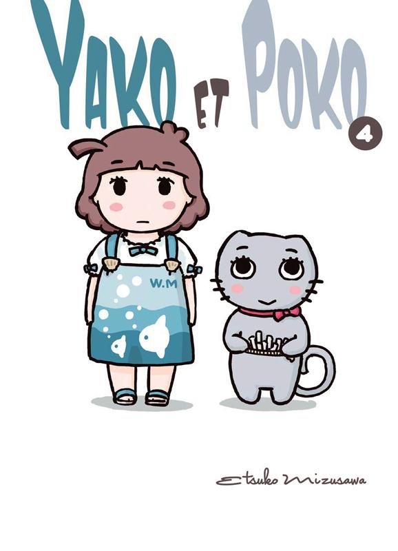 Yako et Poko  T4, manga chez Komikku éditions de Mizusawa