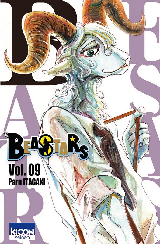 Beastars T9, manga chez Ki-oon de Itagaki