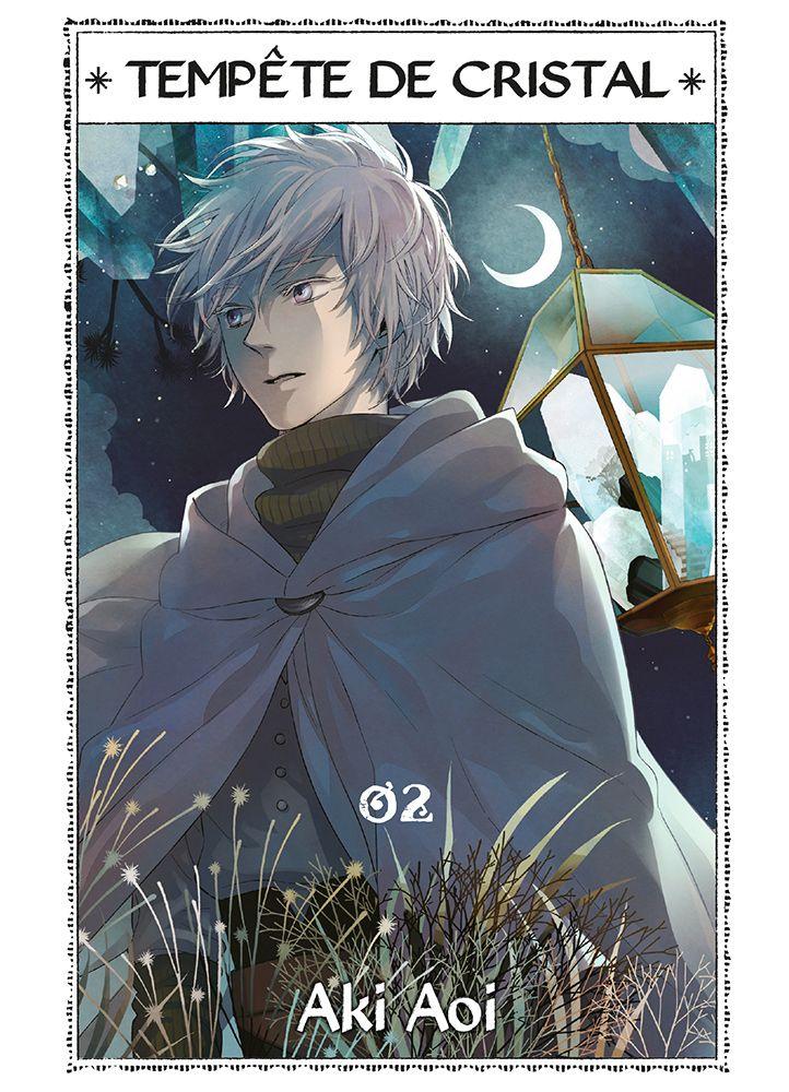 Tempête de cristal T2, manga chez Komikku éditions de Aoi