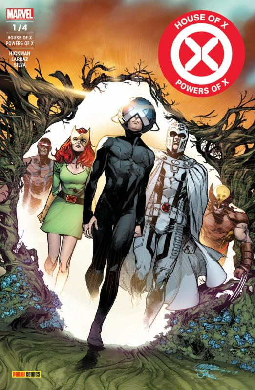 House of X/ Powers of X T1 : Le dernier rêve du professeur X (0), comics chez Panini Comics de Hickman, Larraz, Gracia