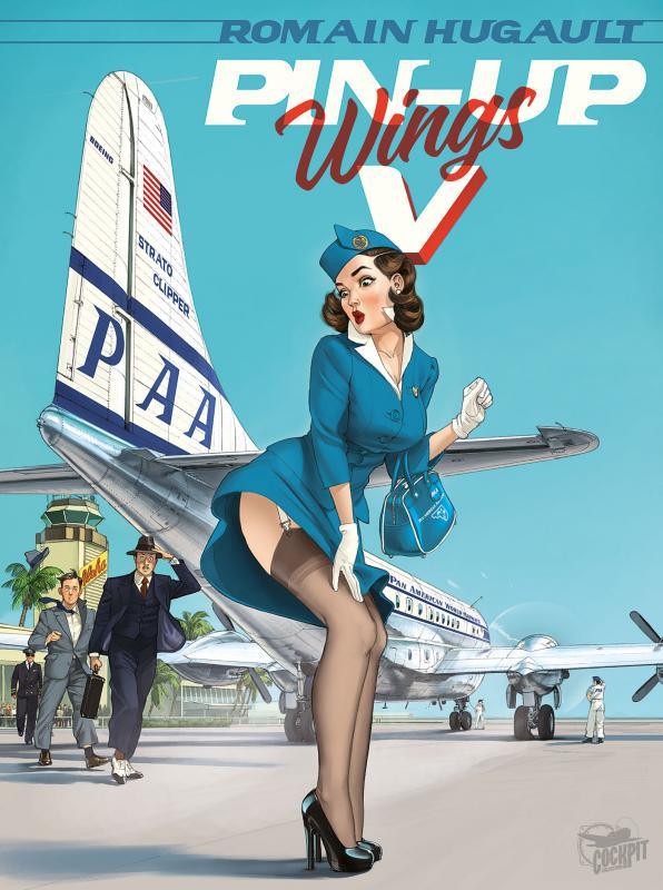 Pin-Up Wings T5, bd chez Paquet de Hugault