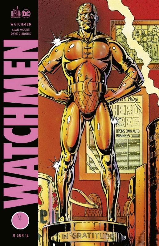 Watchmen T8, comics chez Urban Comics de Moore, Gibbons
