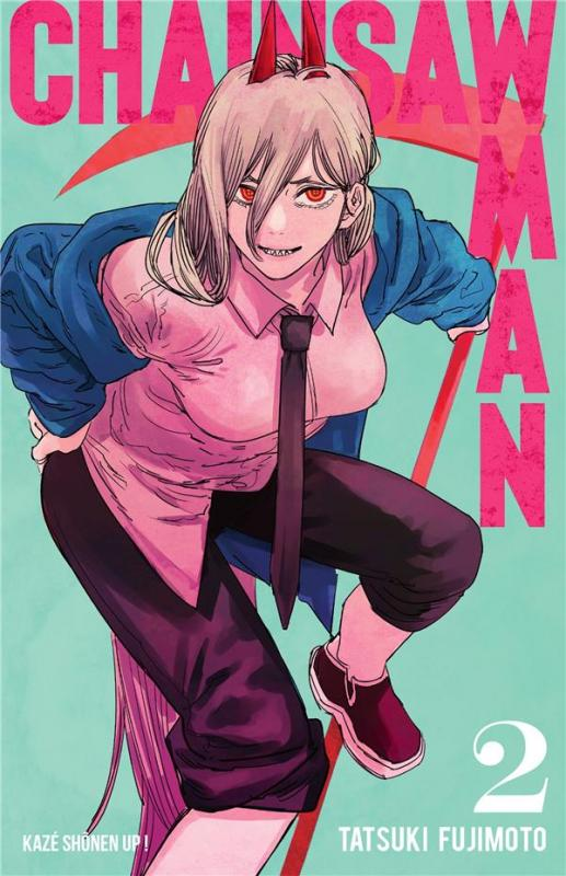 Chainsaw man T2, manga chez Kazé manga de Fujimoto
