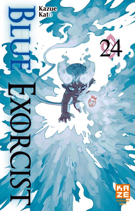 Blue exorcist T24, manga chez Kazé manga de Kato