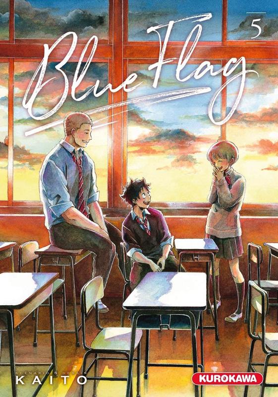 Blue flag T5, manga chez Kurokawa de Kaito