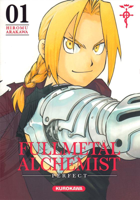 Fullmetal Alchemist – Perfect, T1, manga chez Kurokawa de Arakawa