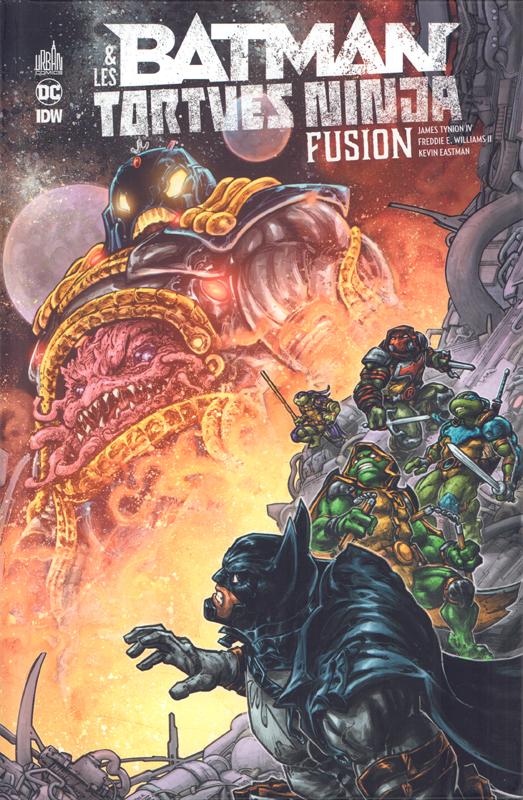 Batman & Les tortues Ninjas T3 : Fusion (0), comics chez Urban Comics de Tynion IV, Williams II, Eastman, Colwell