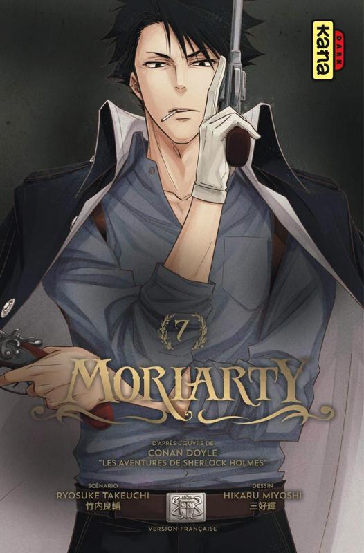 Moriarty T7, manga chez Kana de Takeuchi, Doyle, Miyoshi