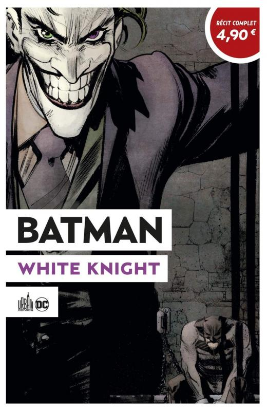 Batman White Knight, comics chez Urban Comics de Murphy, Hollingsworth
