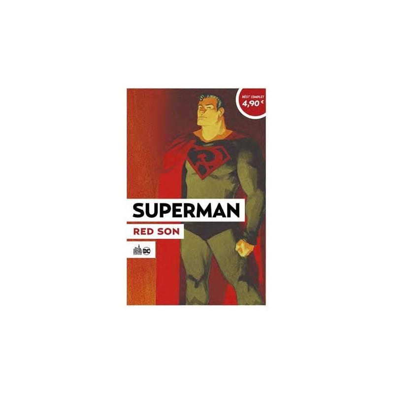 Superman Red Son, comics chez Urban Comics de Landis, Millar, Kelly, Mahnke, Plunkett, Johnson, Bermejo, Jock, Mounts, Loughridge