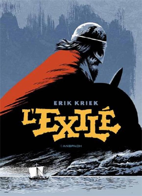 L'Exilé, bd chez Anspach de Kriek