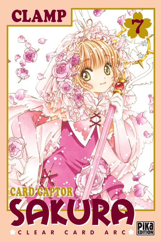 Card Captor Sakura - Clear card arc T7, manga chez Pika de Clamp