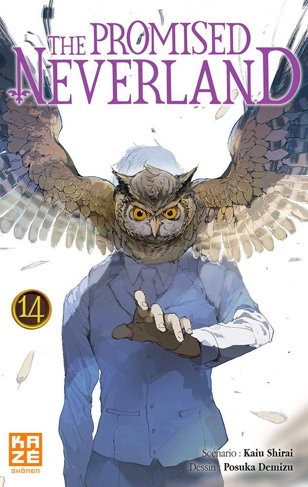 The promised neverland T14, manga chez Kazé manga de Shirai, Demizu
