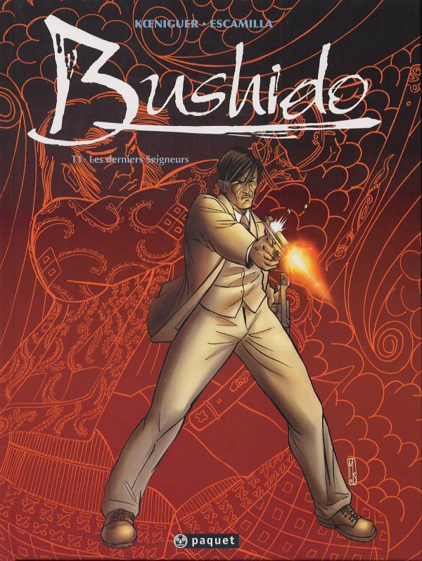 Bushido T1 : Les derniers seigneurs (0), bd chez Paquet de Koeniguer, Escamilla