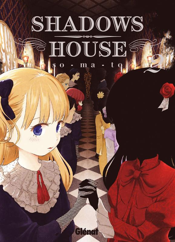Shadows house T2, manga chez Glénat de So-ma-to