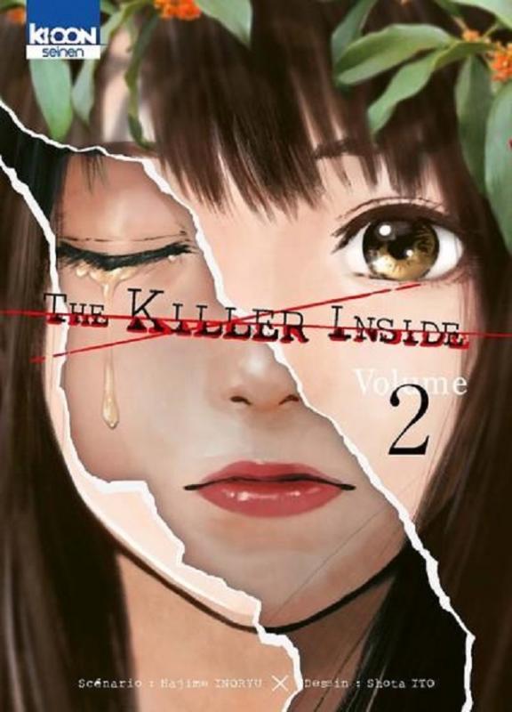 The killer inside T2, manga chez Ki-oon de Inoryu, Ito