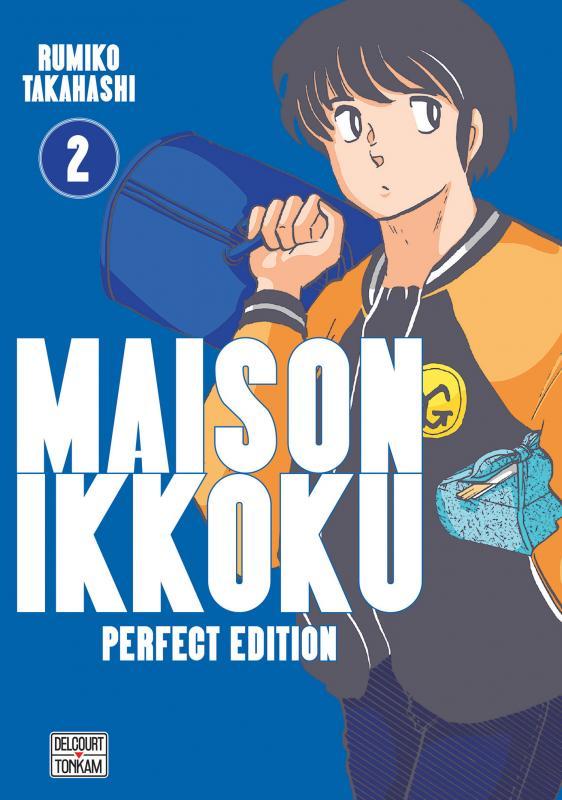 Maison Ikkoku T2, manga chez Delcourt Tonkam de Takahashi
