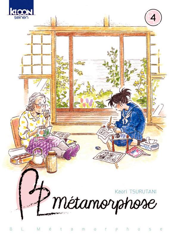 BL Métamorphose T4, manga chez Ki-oon de Tsurutani