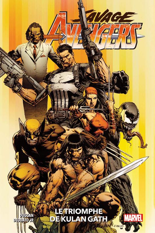 Savage Avengers  T1 : Le triomphe de Kulan Gath (0), comics chez Panini Comics de Duggan, Deodato Jr, Martin jr, Finch