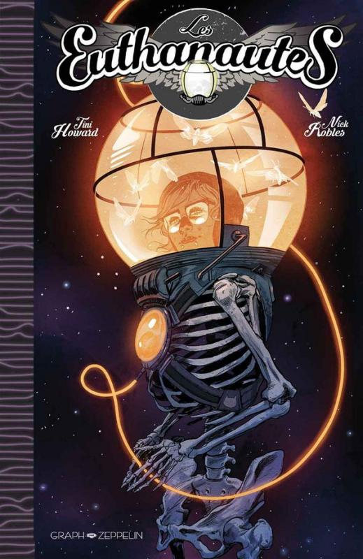 Les Euthanautes, comics chez Graph Zeppelin de Howard, Robles, de La cruz